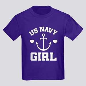 US Navy Girl gift idea T-Shirt