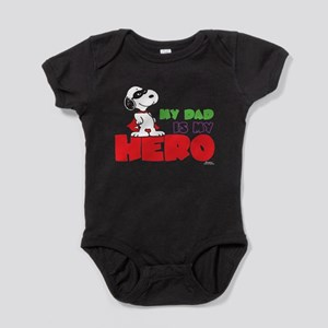 Peanuts: Dad Hero Baby Bodysuit