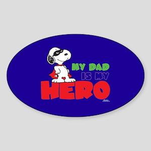 Dad Hero Sticker