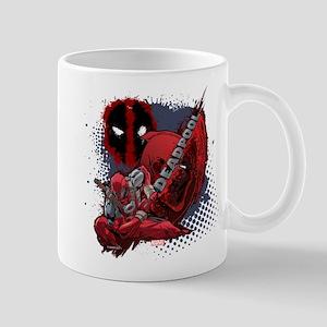 Deadpool Spatter Mugs