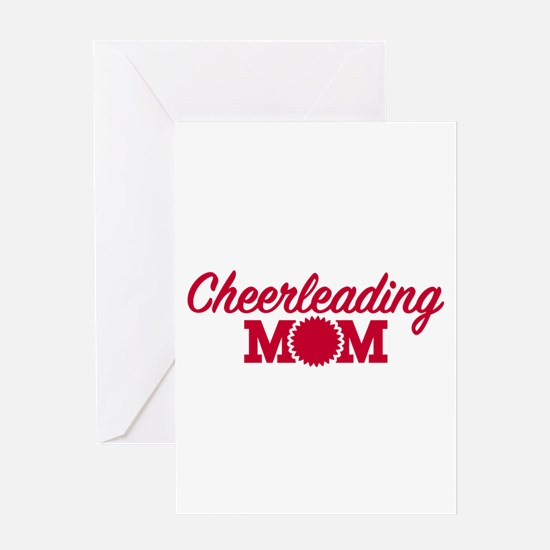 Cheerleading Mom Greeting Card