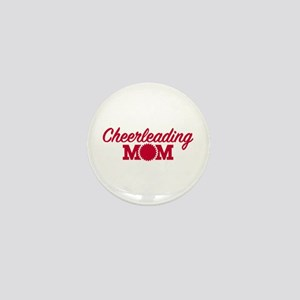 Cheerleading Mom Mini Button