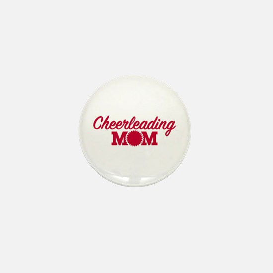 Cheerleading Mom Mini Button