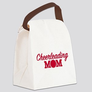 Cheerleading Mom Canvas Lunch Bag
