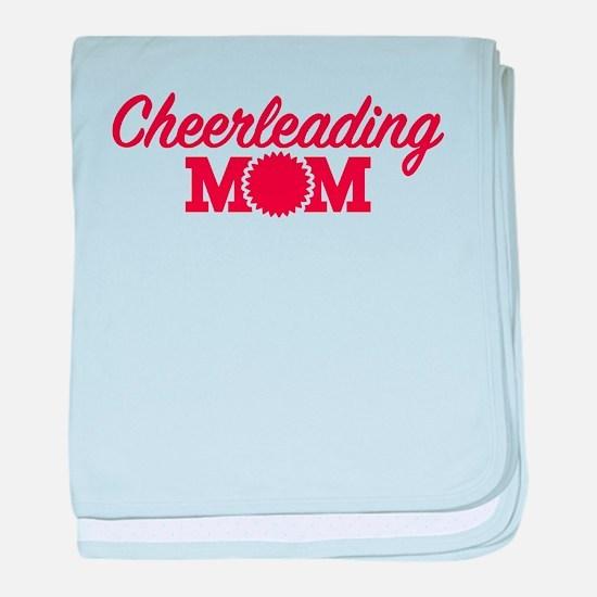 Cheerleading Mom baby blanket