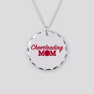 Cheerleading Mom Necklace Circle Charm
