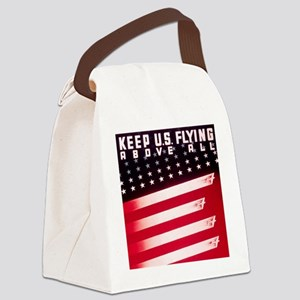 Keep Us Flying Canvas Lunch Bag