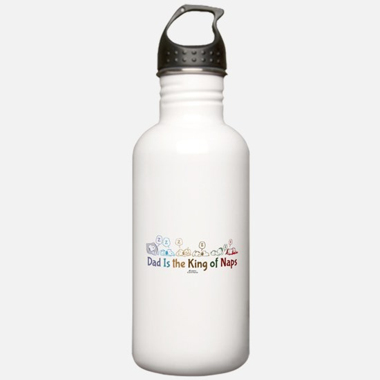 Peanuts: King of Naps Water Bottle