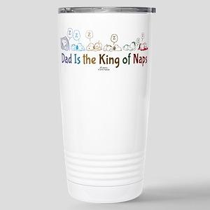 Peanuts: King of Naps Stainless Steel Travel Mug