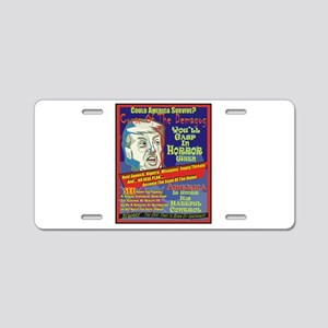 Trump Terror Aluminum License Plate