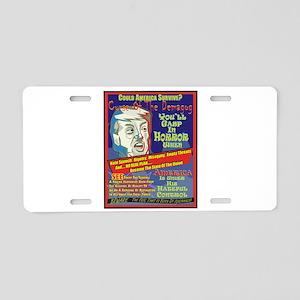 Trump Terror Aluminum License Plate