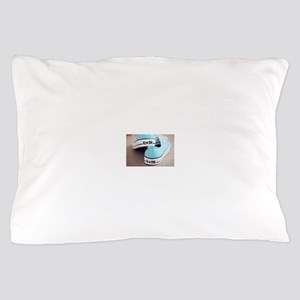 teal blue converse. Pillow Case