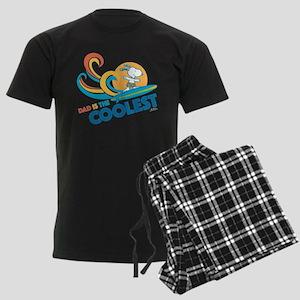 Peanuts: Coolest Dad Men's Dark Pajamas
