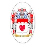 Starr Sticker (Oval 10 pk)