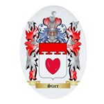 Starr Oval Ornament