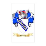 Starling Sticker (Rectangle 10 pk)