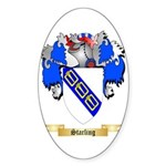 Starling Sticker (Oval)