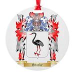 Starke Round Ornament