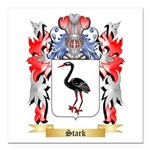 Stark Square Car Magnet 3