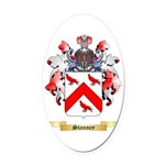 Stanney Oval Car Magnet