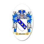 Stanley 35x21 Oval Wall Decal
