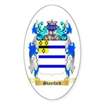 Staniford Sticker (Oval 50 pk)