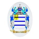 Staniford Oval Ornament