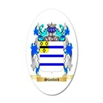 Stanford 35x21 Oval Wall Decal
