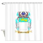 Standing Shower Curtain