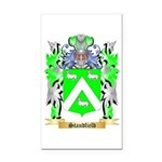 Standfield Rectangle Car Magnet
