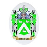 Standfield Oval Ornament