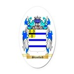 Stamford Oval Car Magnet