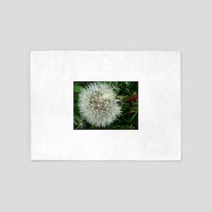dandelion puffball 5'x7'Area Rug