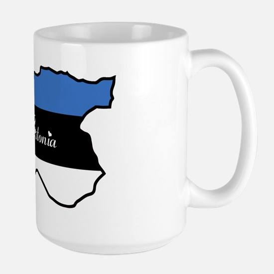 Cool Estonia Large Mug