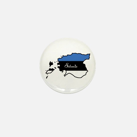 Cool Estonia Mini Button