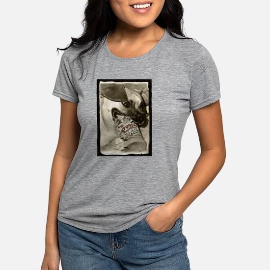 Puggle Peanut Butter Women's Dark T-Shirt