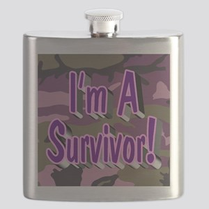 I'm A Survivor! Flask