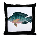 Nile Tilapia Throw Pillow