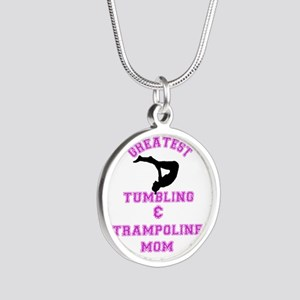 Tumbling and Trampoline Mom Necklaces