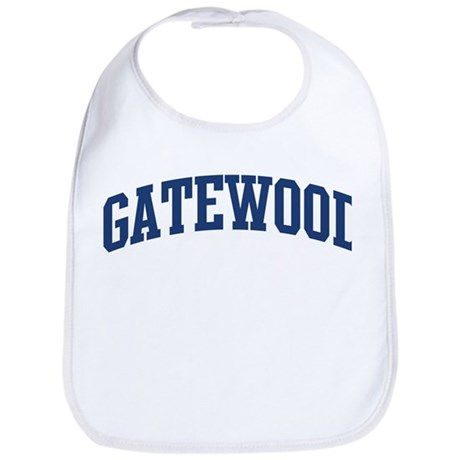 GATEWOOD design (blue) Bib