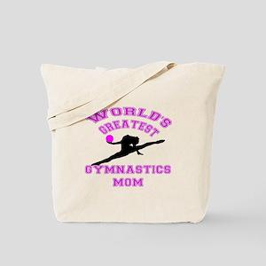 Rhythmic Gymnastics Mom Tote Bag