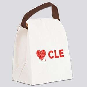 Love, CLE Canvas Lunch Bag
