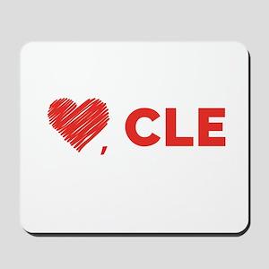 Love, CLE Mousepad