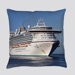 Golden Princess cruise ship Everyday Pillow