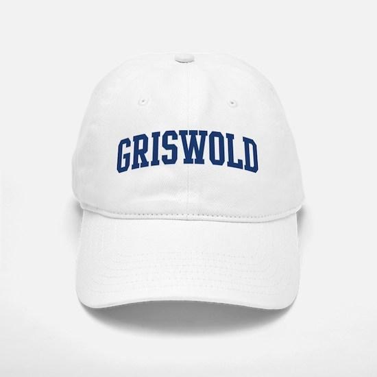 GRISWOLD design (blue) Baseball Baseball Cap