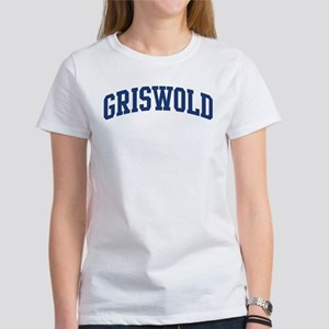 GRISWOLD design (blue) Women's T-Shirt