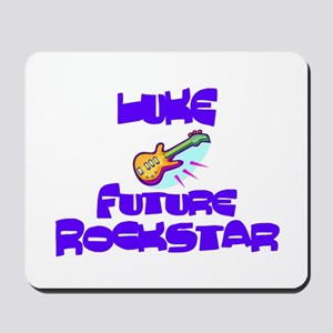 Luke - Future Rock Star Mousepad