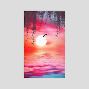 Beautiful Sunset Area Rug