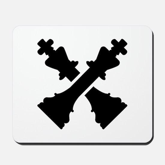 Chess king Mousepad