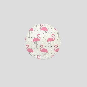 Cute Flamingo Mini Button